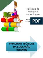 3 SLIDE 1-3 AULA 1 PRINCIPAIS TEORICOS DA EDUCAÇÃO INFANTIL