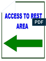ACCESS TO REST AREA.doc