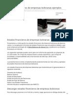 boliviaimpuestos.com-Estados Financieros de empresas bolivianas ejemplos.pdf
