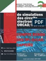 Compte Rendu Les TP Orcad Final-TAHIR Badr