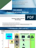 1. NS500 - Basic Spec 2013-1018_Español (1)