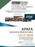 FUNCIONES DE APAFA