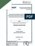"Caracterización taxonómica preliminar y posibilidades en acuicultura del ""churo gigante o manzana"" Amazónico, Pomacea sp.pdf"