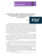 James J. Putnam e as origens do diálogo entre filosofia e psicanálise