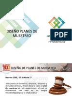 5. DISEÑO E IMPLEMENTACION DE PLANES DE MUESTREO