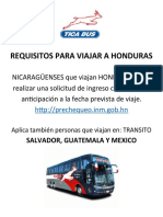 REQUISITOS PARA VIAJAR A HONDURAS.docx