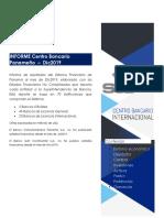 Informe Sistema Financiero de Panamá al mes de Diciembre 2019