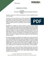 """05-03-20 Presenta Gobernadora iniciativa """"Ley Olimpia de Sonora"""" para castigar el ciberacoso a Mujeres"""
