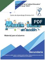 Material para el alumno - Matemáticas en acción