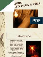 1. Um Livro aberto para a vida