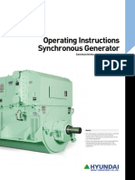 Synchronous generator manual