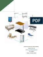 Diseño Mesa hospitalaria