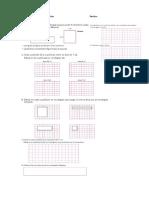 guía calculo areas 2 5° basico