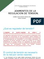FUNDAMENTOS DE LA REGULACION DE TENSION