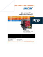Conzerv Em 6400 Series Power Meter User Manual