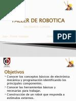 CURSO DE ROBOTICA PARA NIÑOS CICEMP 2