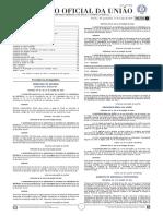 Diário Oficial da União (DOU) Ano LXI N° - 48 ,Quarta-Feira, 11 de março de 2020 - Seção 2 - Completo