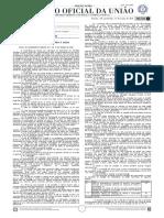 Diário Oficial da União (DOU) Ano CLVIII N° - 48 ,Quarta-Feira, 11 de março de 2020 - Seção 3-A - Edição Extra - Completo