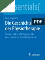 [Essentials] Paul Geraedts - Die Geschichte Der Physiotherapie