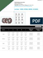 SingleRowRadialBallBearings-8000-87000-88000-WC8000-WC8800Series