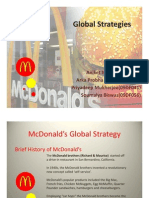 McDonald's Global Strategy