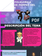 DANZA FOLKLORICA AUGAS DE PAMPAS DEL CARMEN