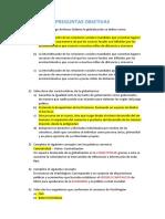 ETICA, PREGUNTAS OBJETIVAS DE RAZONAMIENTO