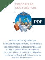 PRESTADORES DE SERVICIOS TURISTICOS