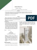 PRESION HIDROSTATICA-FISICA