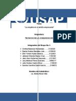 ACTIVIDAD 2-TECNICAS DE LAS COMUNICACION