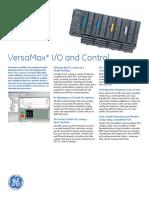 GE Versamax PLC Datasheet