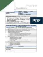 Evaluación Sumativa Libro 3 Basico