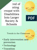 Special & Inclusive Education