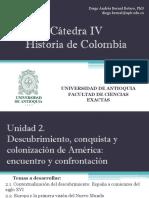 Unidad 2 Descubrimiento, Conquista y Colonización de América - Catedra IV