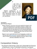 Richard Wagner Powerpoint