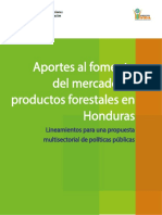 Producto forestal Honduras