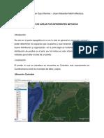 informe areasM-D