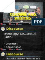 1.2 Connected Discourse