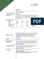 Ficha-técnica metil isobutil cetona