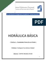practica hidraulica