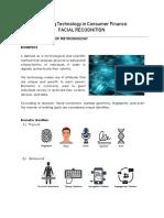 Facial Recognition (Consumer Lending)