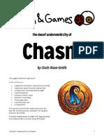 All Fun & Games - The Dwarf Underworld City of Chasm