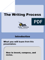 writing process purdue