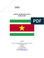 Doing Business With Suriname