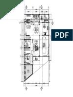 01. Denah Lantai 1 dan Lantai 2 - Gambar Kerja Rumah 2 Lantai-Model