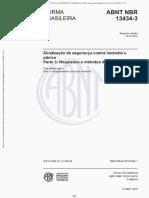 NBR 13434-3 (2018) - Sinalização de Seguranca Contra Incêndio e Pânico Parte 3 (Requisitos e Métodos de Ensaio)