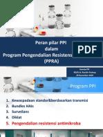 Peran pilar PPI dalam Program Pengendalian Resistensi Antimikroba