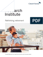 CSRI Rethinking retirement