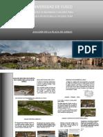 analisis de la plaza mayor del Cusco