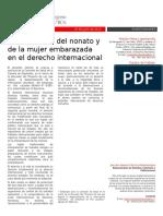 La protección del nonato y de la mujer embarazada en el derecho internacional-2